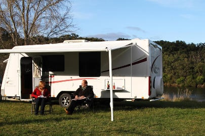 Jayco Sterling Slideout for Hire