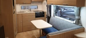 Caravan Hire Interior design