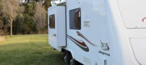 Jayco Sterling sideout